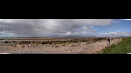 Irvine beach - scotland - uk