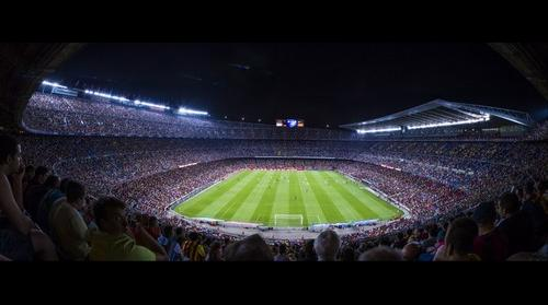 Camp Nou, Barcelona Stadium on August 24 2014