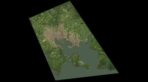 Satellite Image, 1815 Baltimore MD, USA, Conjecture
