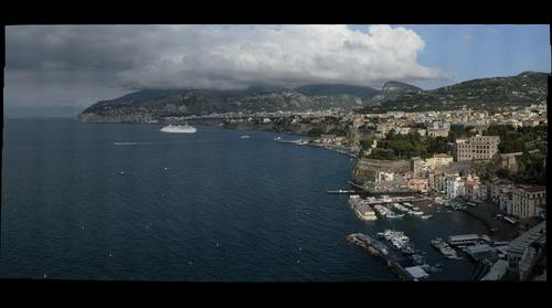 Sorrento from the Belaire Hotel