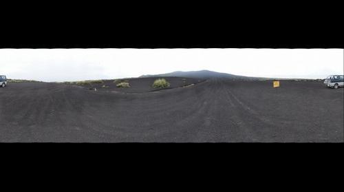 Sandy desert in Izu-Oshima Island