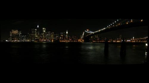 Downtown Manhattan from Brooklyn