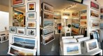 Inside the John Post (photo) Gallery, Manhattan Beach, California