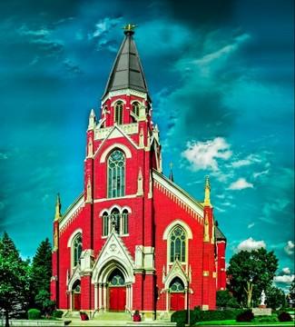 St Peter's - Fort Wayne, IN [artistic edit]