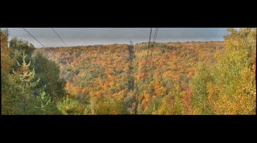Autumn in mountains of Zhigulevsk