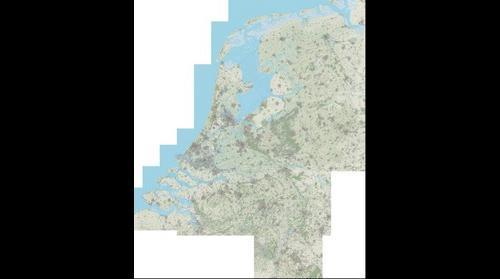 OpenTopoNL 1:25000 kaart (versie september 2014)