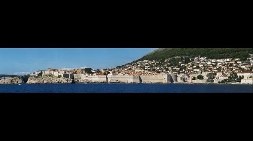 Dubrovnik view from Lokrum