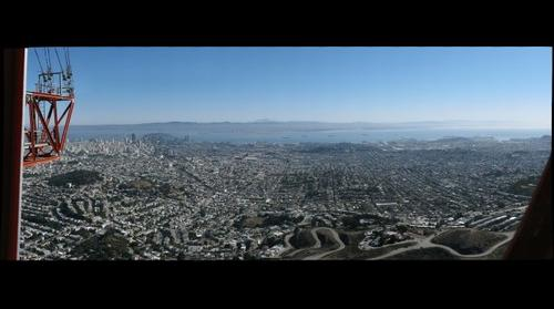 San Francisco From Sutro Tower - Looking East #1