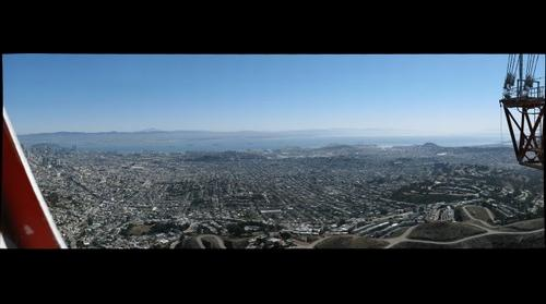San Francisco From Sutro Tower - Looking East #2
