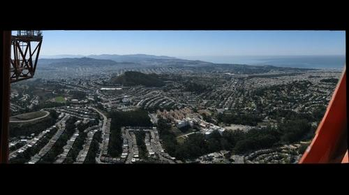 San Francisco From Sutro Tower - Looking Southwest #1