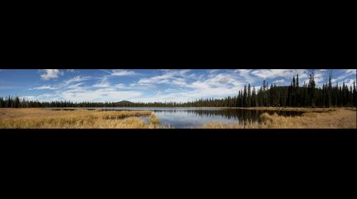 Fall afternoon on Lily Lake