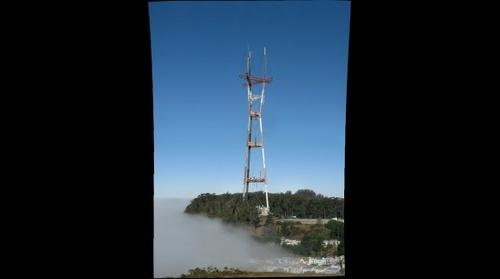 Sutro Tower From Twin Peaks