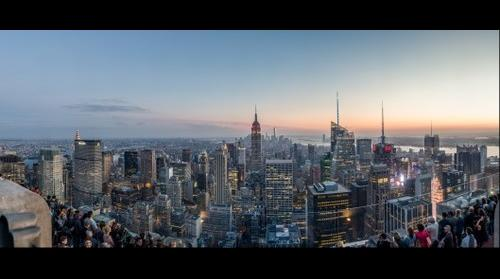 Top of the Rock Twilight - NYC September 2014