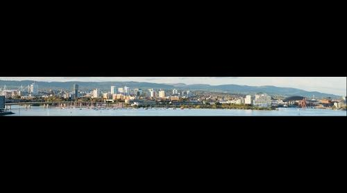 The City of Cardiff from Penarth