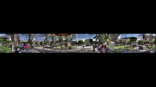 Plaza de los Martires de Morelia Michoacan Mexico