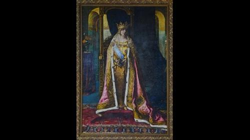 Regina Maria, Pericle Capidan (Muzeul National al Unirii, Alba Iulia), 1927
