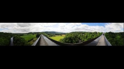 Pontcysylite Aqueduct, Wales
