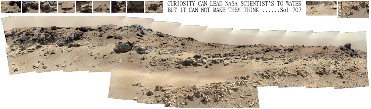 Nasa scientists fail to research stream find on Mars