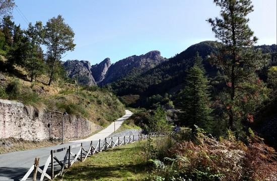 Minas de Arditurri - vista de Peñas de Aia