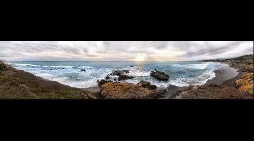 Moonstone Beach Rays