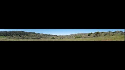 Grant Ranch Park - Looking North from Upper Hotel Trail - Halls Valley, CA