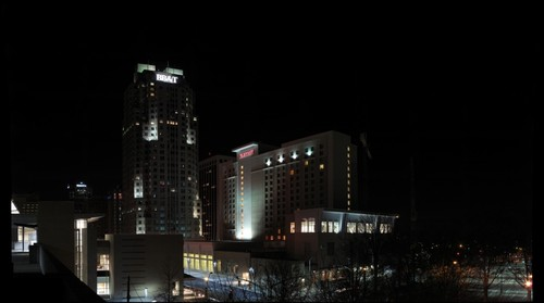 Downtown Raleigh, NC at Night