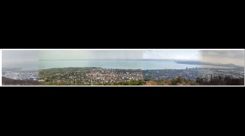 Balatonfüredi négy évszakos panoráma