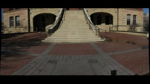Plaza of Heroines, Catt Hall, Iowa State University, Ames, Iowa