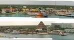 Cozumel by the ship