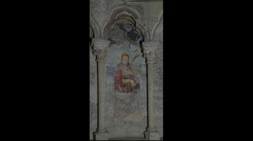 Catedrala Romano Catolica Alba Iulia - panou pictat IV