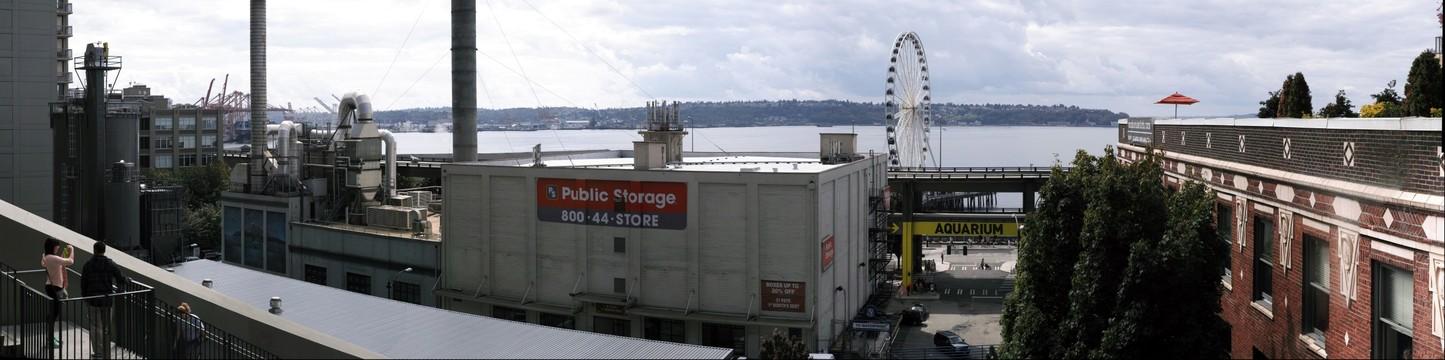 Ferris Wheel, Downtown Seattle