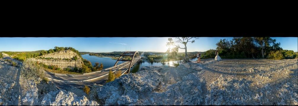 Lake Austin and the Pennybacker Bridge