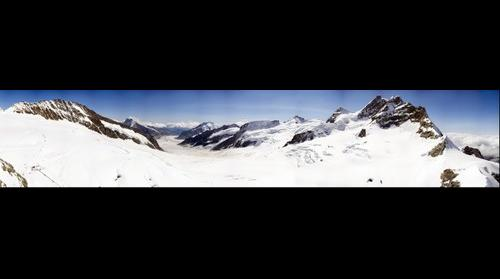 Panorámica desde Jungfraujoch