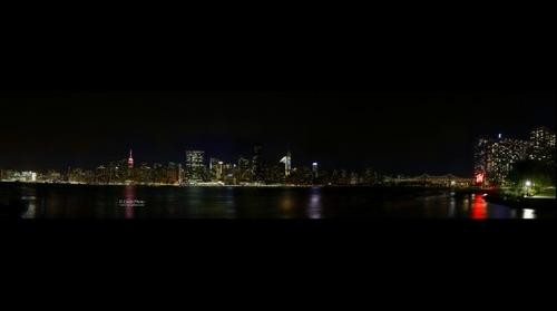 New York City's view from Long Island City - Hunter Point