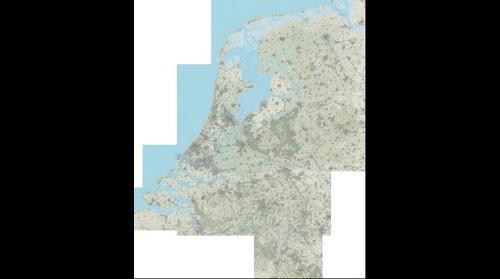 OpenTopoNL 1:50000 kaart (versie november 2014)