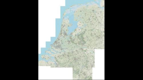 OpenTopoNL 1:12500 kaart (versie november 2014)
