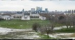 View from Greenwich observatory in London