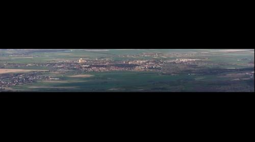 Panorama Prudnika z Biskupiej Kopy