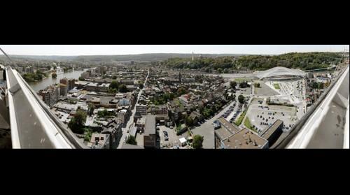 Panorama de Liège depuis la Tour des Finances