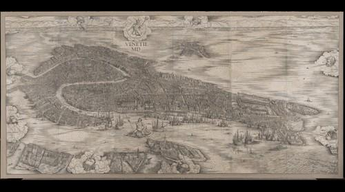 Help find all 103 bell towers in this 500 year-old map of Venice, Italy
