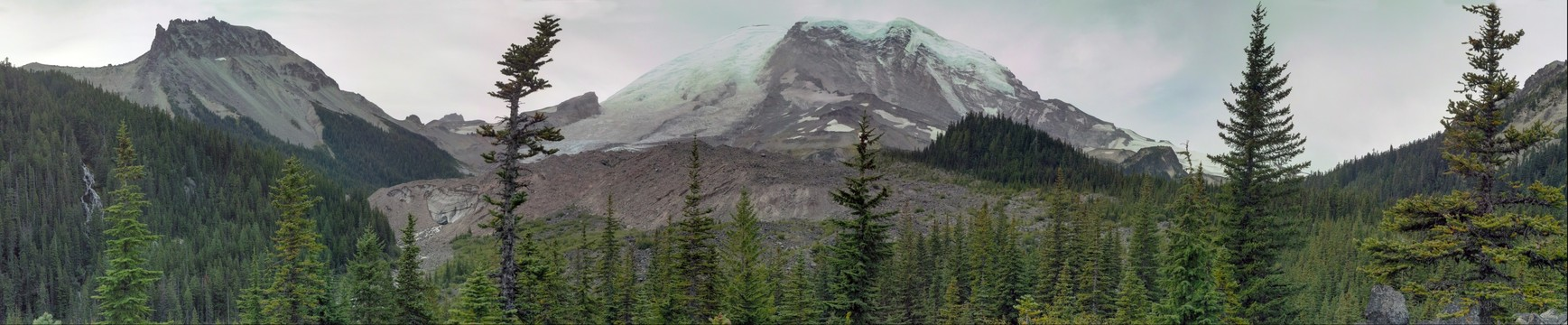 Mt Ranier from the North