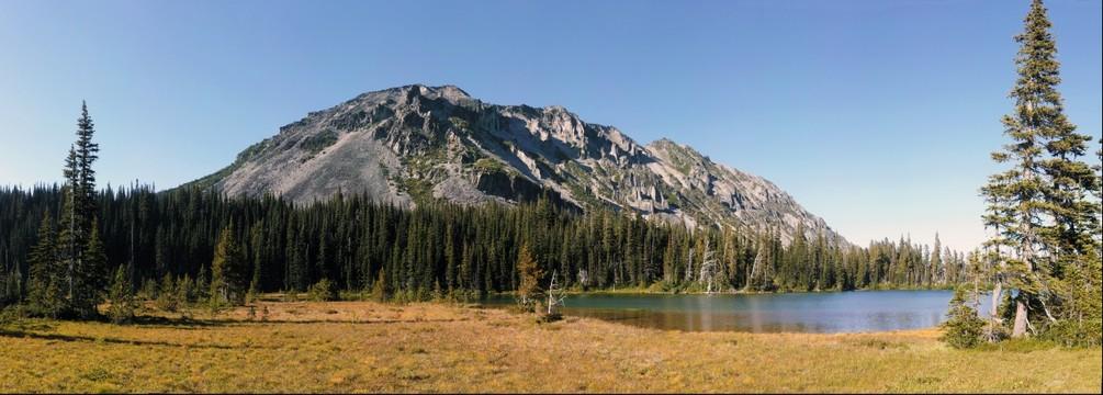 Lake on Wonderland Trail