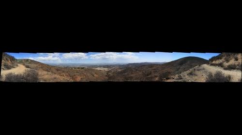 Cocos Fire recovery area chronorama C3 - 3, Sep 14, 2014