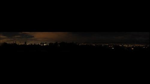 Tucson -  Night - Panorama