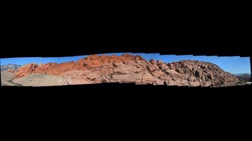 Redrock Canyon Ridgeline