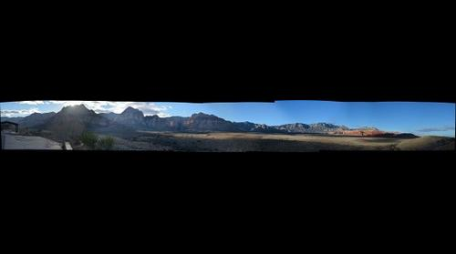 Redrock Canyon Valley View