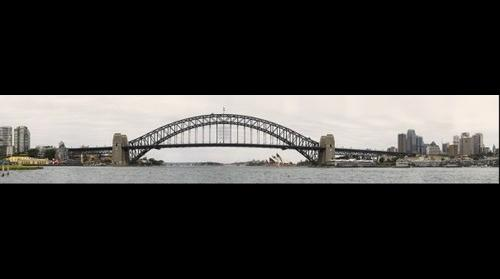 Sydney Harbour on an overcast day