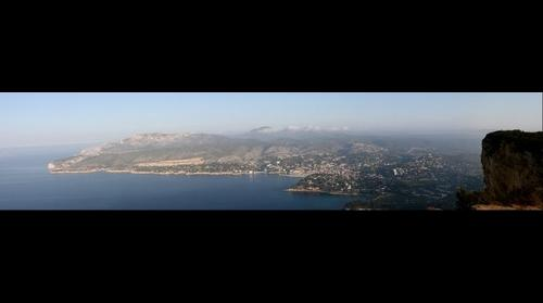 View over Cassis (France)