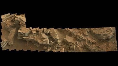 MSL Curiosity panorama at Sol 840