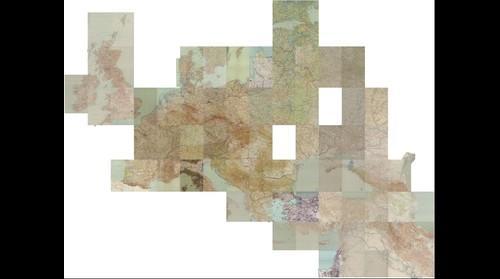 Übersichtskarte von Europa und Vorderasien 1:800,000
